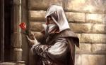 Assassin's Creed 2 Ezio Artwork Roses Auditore