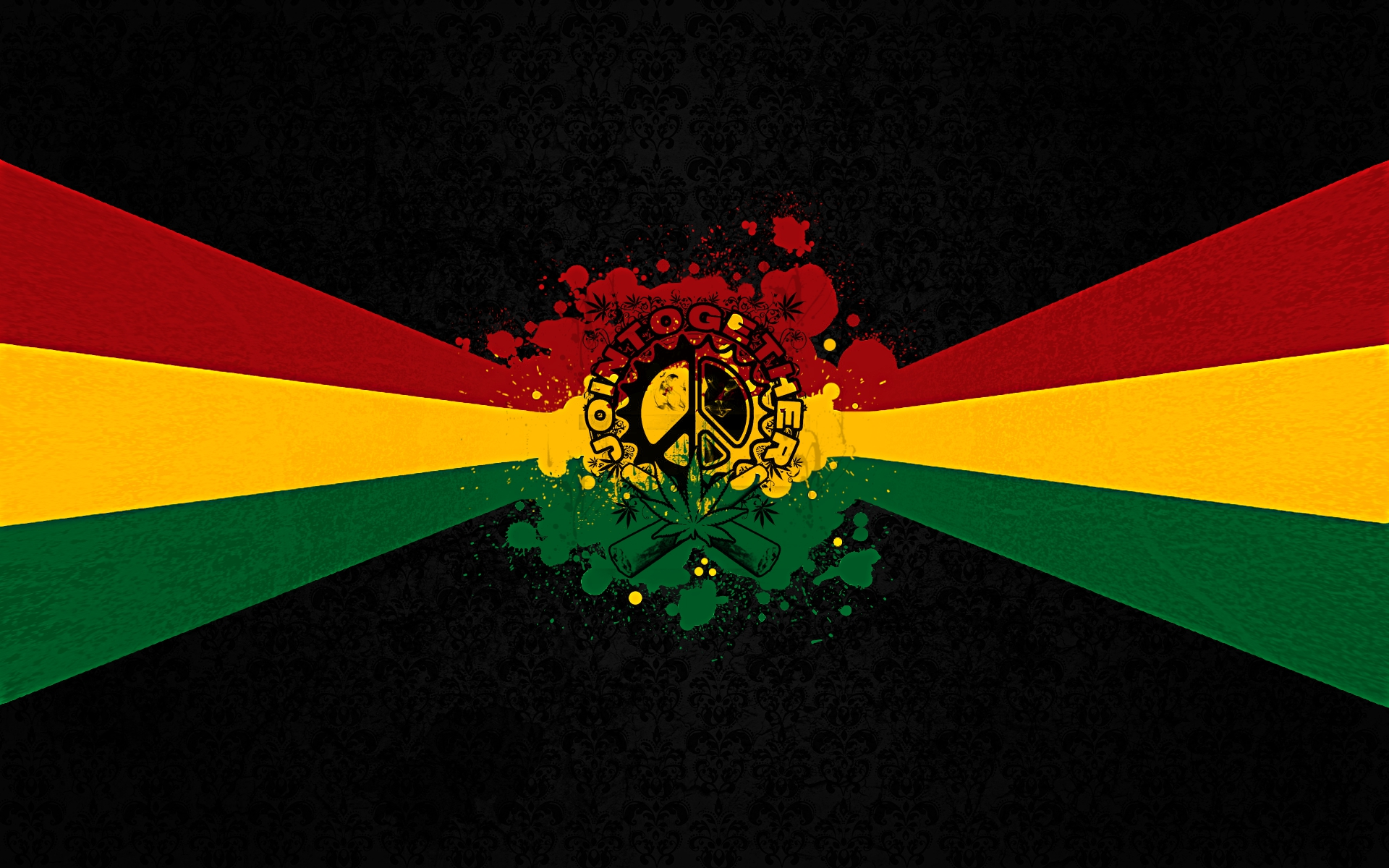 rasta colors backgrounds hd - photo #13