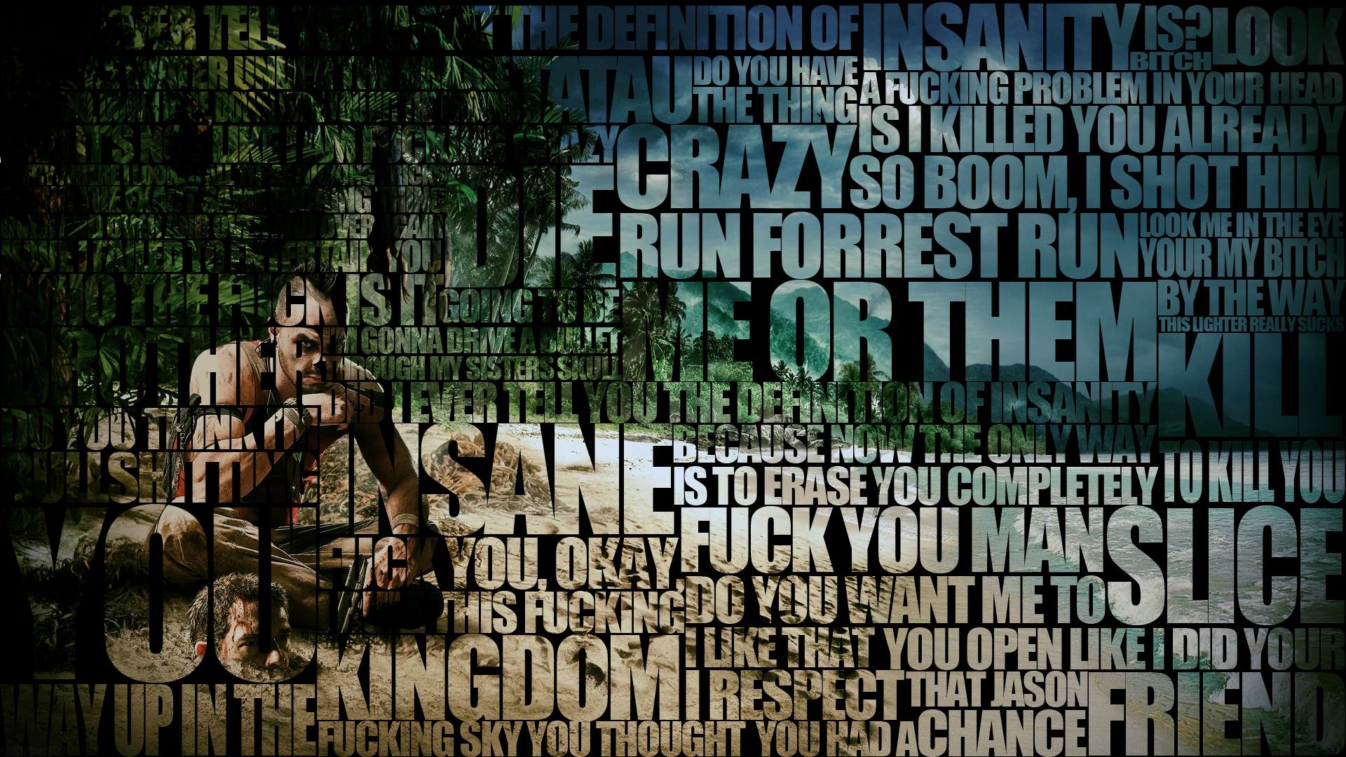 Far Cry 3 Wallpaper Te... Adventure Quotes Wallpaper