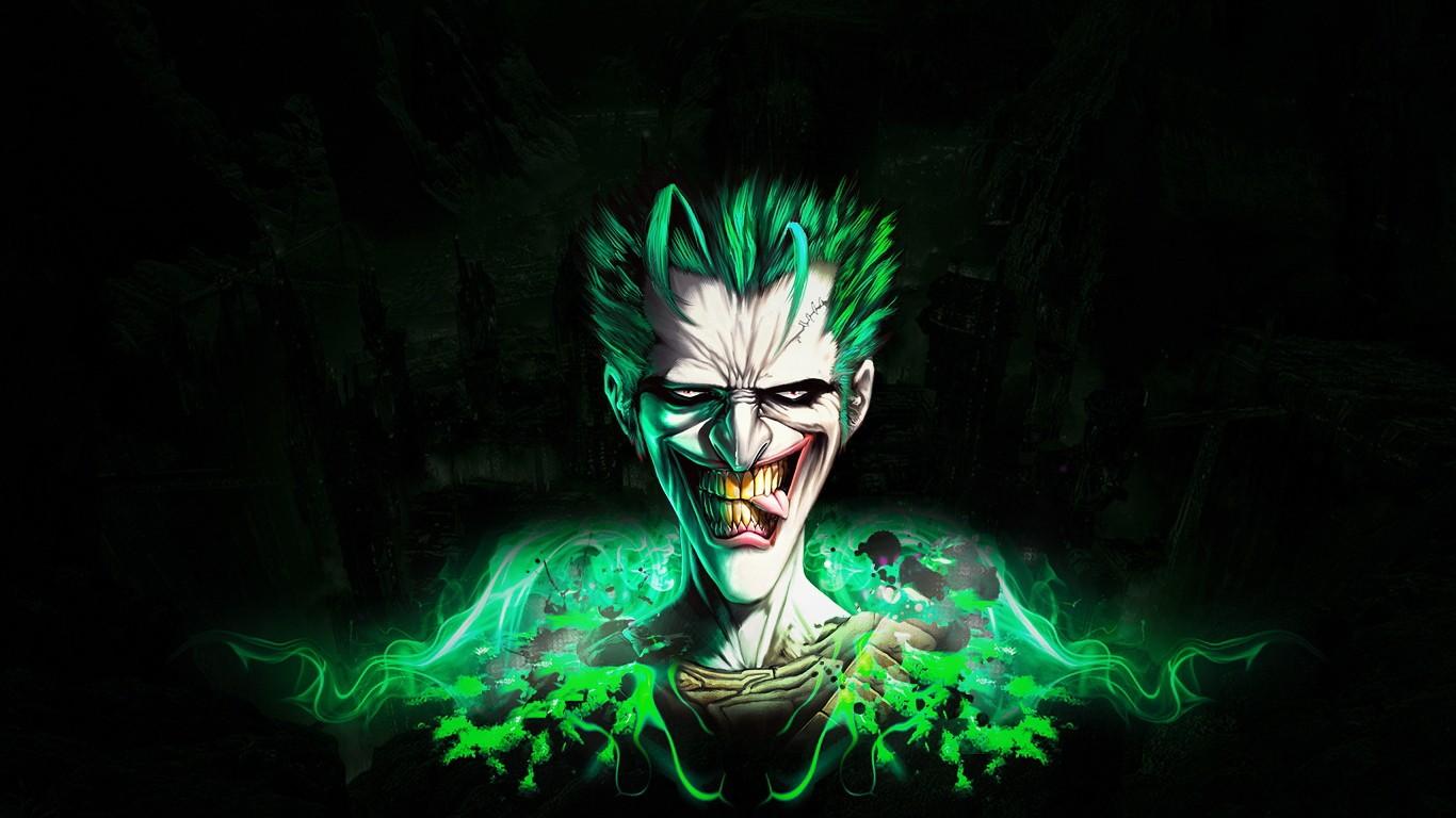 The green flash joker the jester 39 s corner for Joker wallpaper 4k