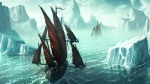 Boats-sailing-through-Icebergs-1920x1080-wide-wallpapers.net