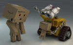 Danbo And Wall-E2