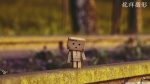 Danbo Waiting for Train