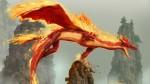 Dragon In Fire