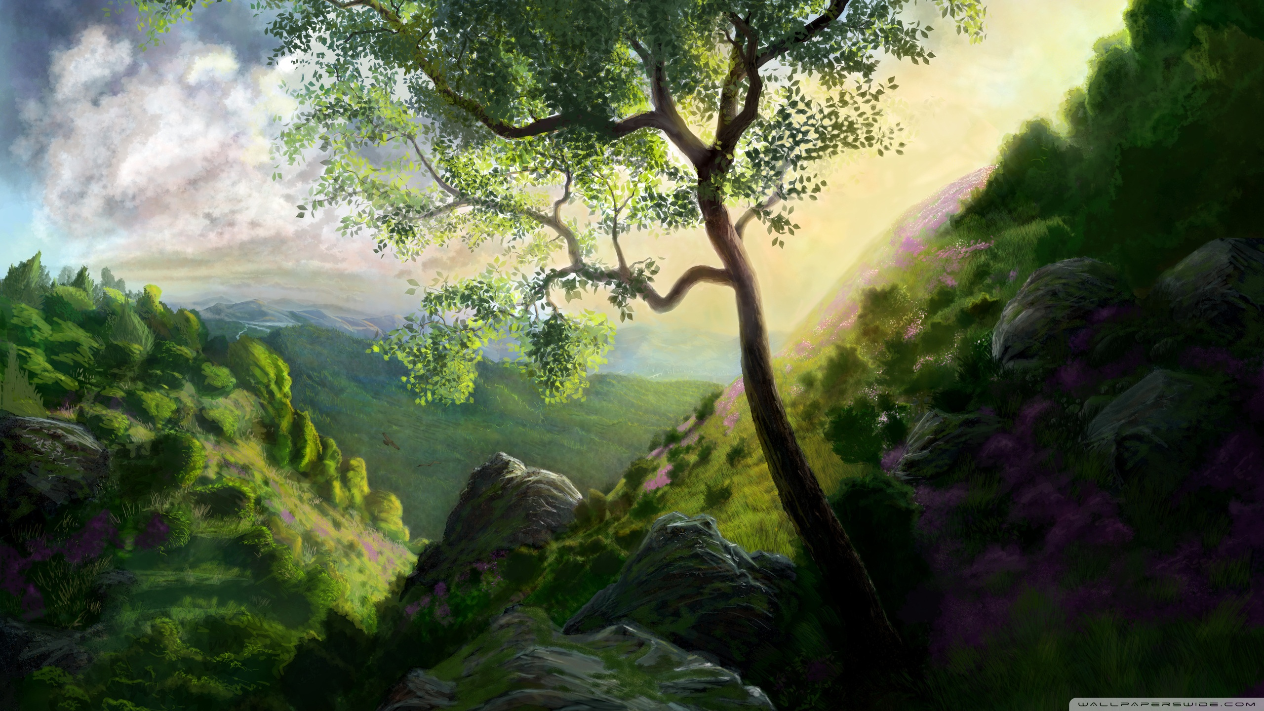 digital paintings scenery - photo #47