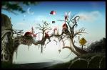 Red Fantasy Land