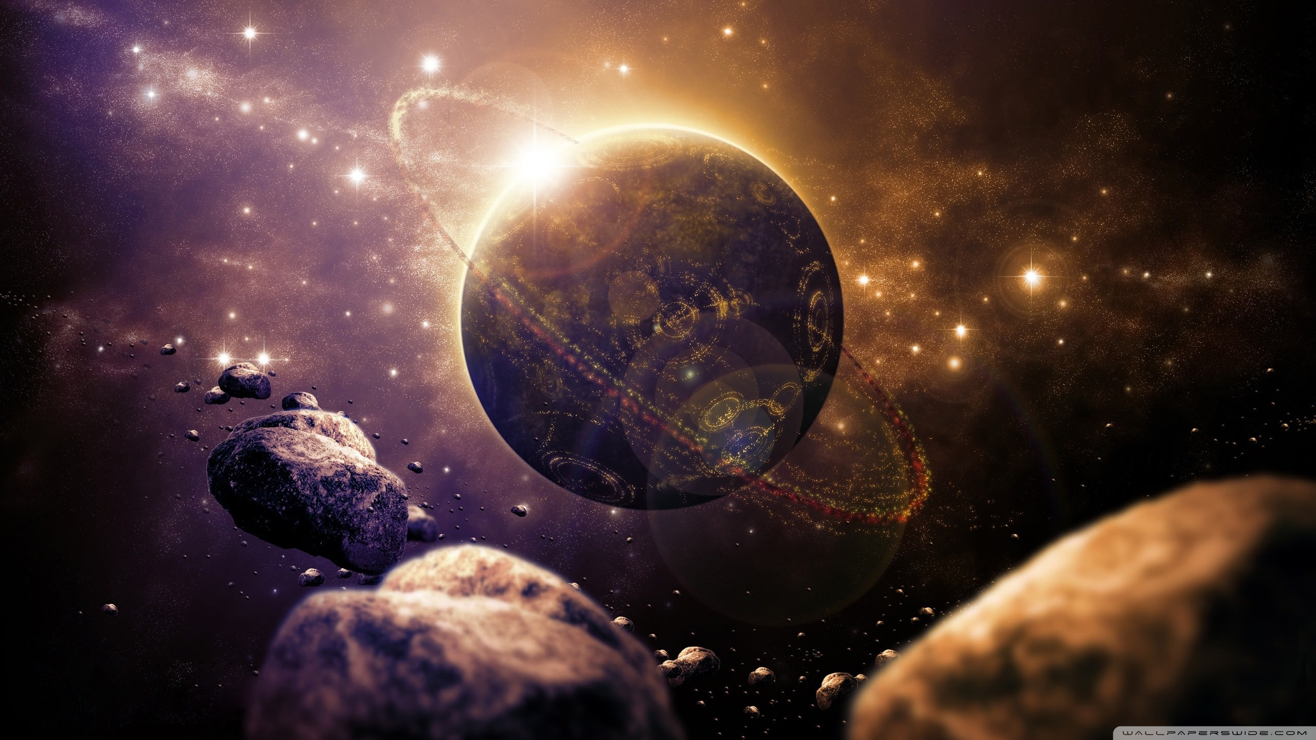 Sci fi planet wallpaper 2560 1440 the jester 39 s corner - Space 2560 x 1440 ...