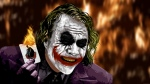 The Joker Burning & Laughing