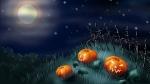 Moon & Pumpkins