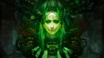 Abastract Green Woman