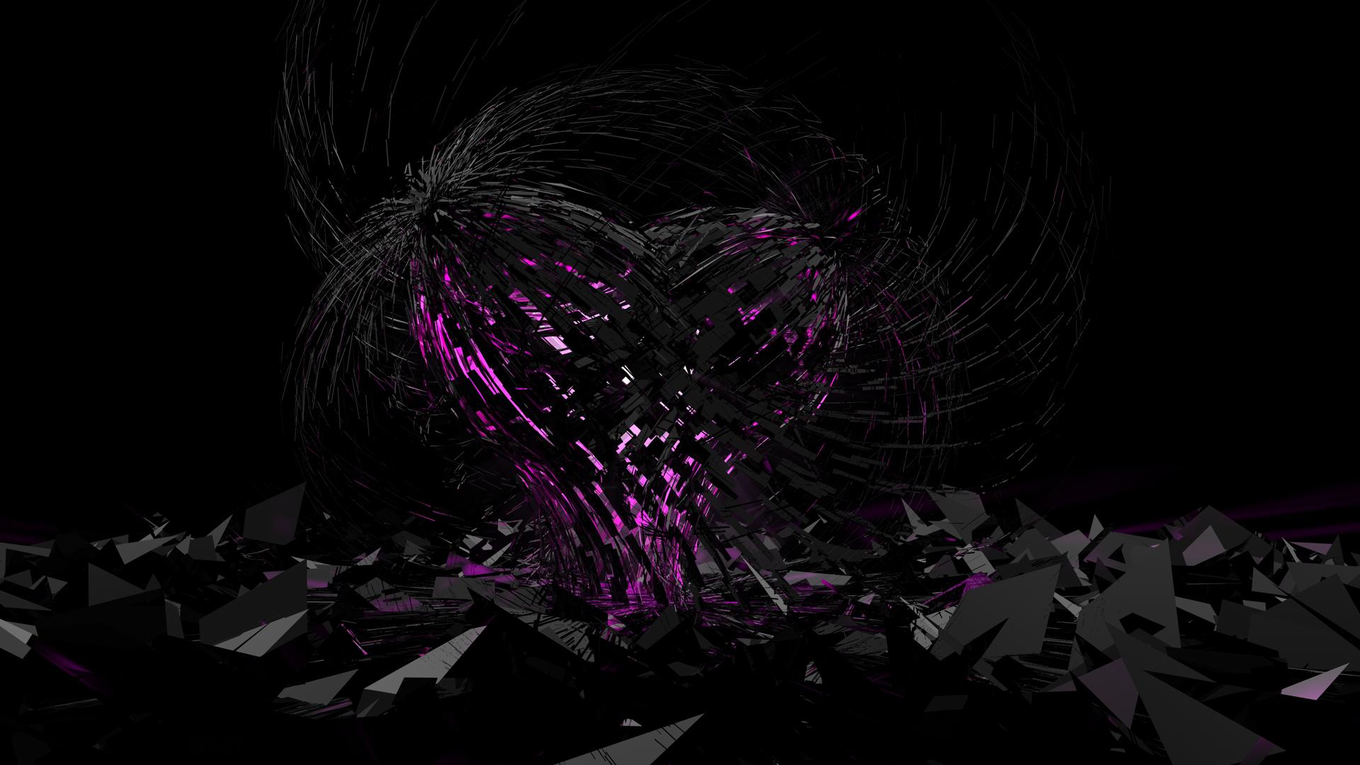 Purple And Black Hearts Wallpaper: The Jester's Corner