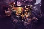 Chun-Li & Mario