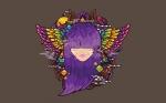 Colorful Purple Girl