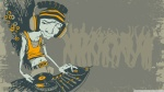 DJ Caricature Wallpaper