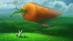 Giant Carrot Rabbit