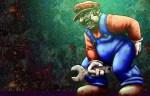 Grunge Mario