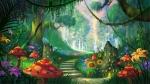 landscapes_forest_artwork_fairy_1920x1080_wallpaper_Wallpaper_2560x1440_www.wallpaperhi.com