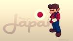 Mario Pray For Japan