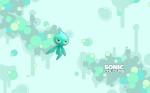 Sonic Colours - cyan Wisp