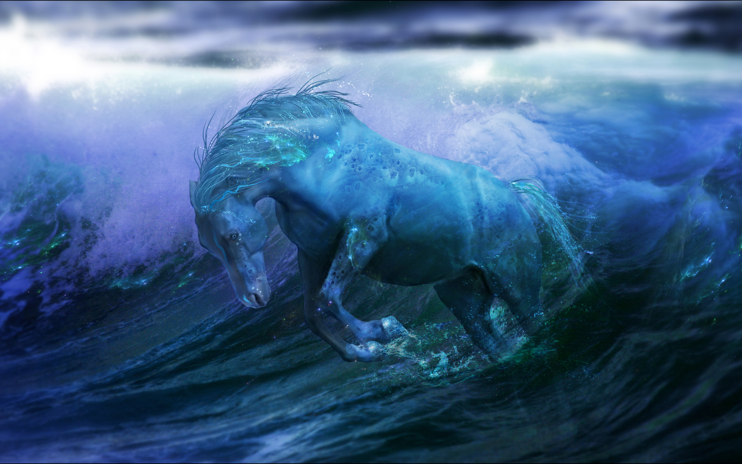 Best Wallpaper Horse Water - water-horse  You Should Have_705795.jpeg