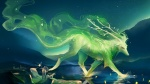 art-of-painting-a-green-animal