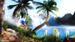 Sonic The Hedgehog Running Beach