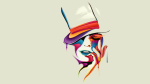 Women Joker Face Hat
